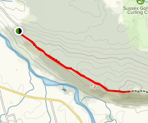 Sussex Bluff Trail  Map