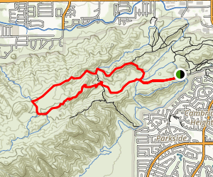 South Mountain Trails (Desert Classic Trail) Map