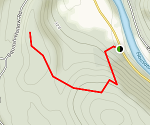Tory's Cave Trail Map