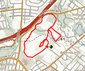 Bellevue Stroll Trail Map