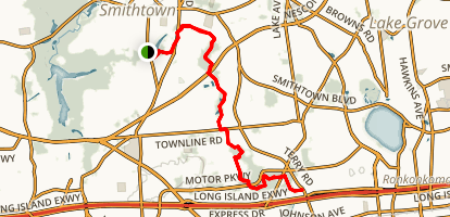 Suffolk Greenbelt Trail Map