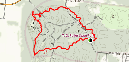 T.O. Fuller State Park Trail Map