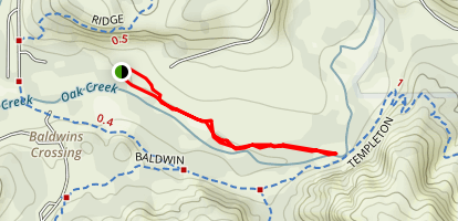 Red Rock Crossing Trail Map