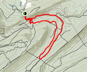 Tussey Mountain Trail Map