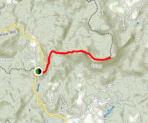 Shortoff Mountain Trail Map