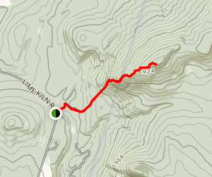 Black Mountain via Chippewa Trail Map