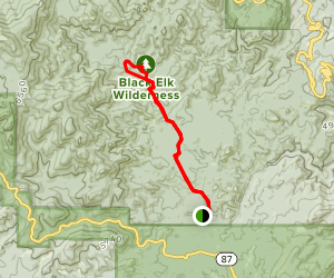 Grizzly Creek Trail Map