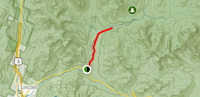 Wilderness Trail/East Branch Road Map