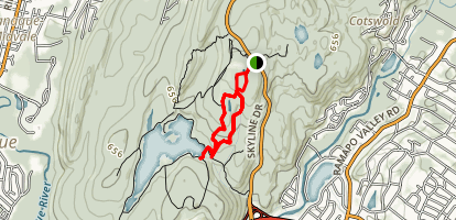 Ramapo Mountains Loop Map