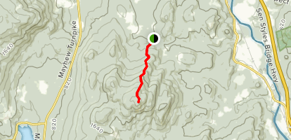 Plymouth Mountain Sutherland Trail Map