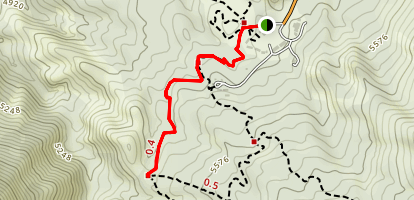 Laguna Meadow Trail Map