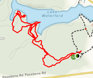 Lake Waterford Park Trail Map