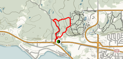 Duchesnay Falls Trail Map