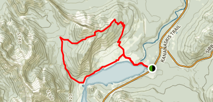 Prairie View Trail to Jewell Pass Map