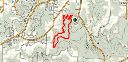 Deer Run Trail Map