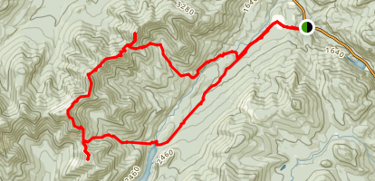 Great Range Loop Trail Map
