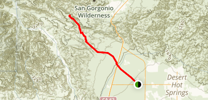 Mission Creek Preserve Trail Map