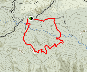 Green Mountain Trail Map