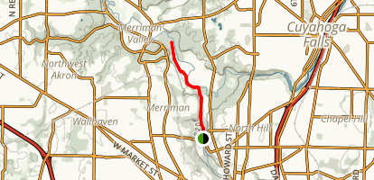Cascade Valley Park Trail Map