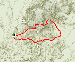 Outer Mountain Loop Map