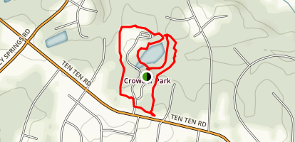 Crowder District Park Loop Trail Map