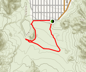 East Cove Trailhead Map
