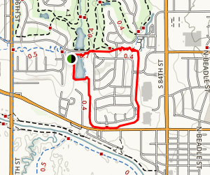Schwer Park Trail Map