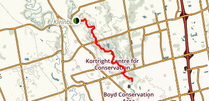 Humber Trail  Map