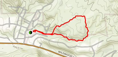 Dairy Road Trail Map