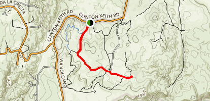 Hidden Valley Road Map