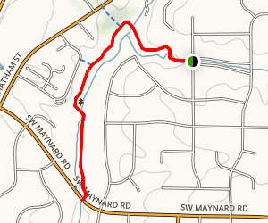 Higgins Greenway Trail Map