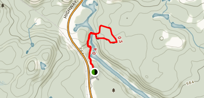 A.Y. Jackson Lookout Trail Map