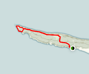 Cape Split Trail Map