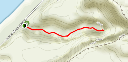 Moonflower Canyon Trail Map
