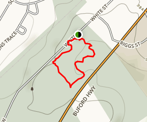 White Street Park Trail Map