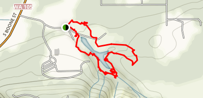 Lake Swano Trail Map
