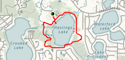 Hastings Lake Loop Map