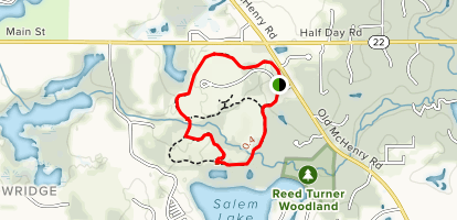 Heron Creek LCFP Trail Map