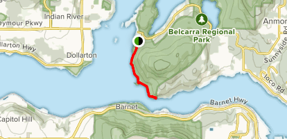 Admiralty Point Trail Map