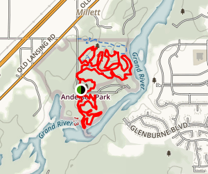 Anderson Park Trail Map