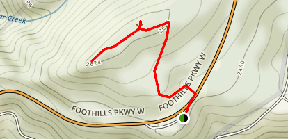 Look Rock Tower Trail Map