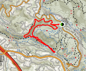 Cinderella Sunset Loop Trail Map