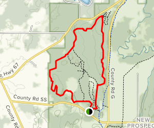 Zillmer Trail Yellow Loop Map