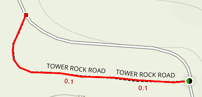 Tower Rock Trail Map