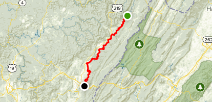 Greenbrier River Trail Map