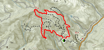 Byrne Trail Map