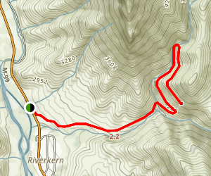 Cannell Creek Trail Map