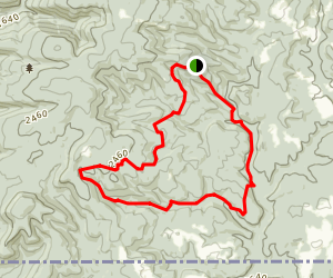 Quebec Run Outer Loop Trail Map