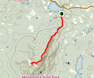 Pumpelly Trail Map