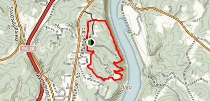 Harrison Hills Park: Rachel Carson Trail-Pond And River Overlooks Trails Map